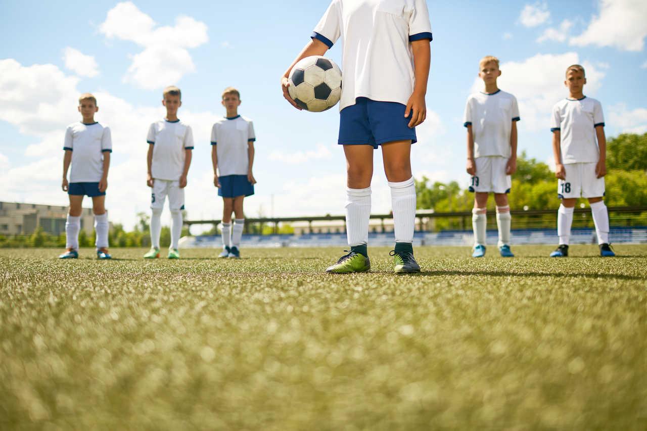 trening piłkarski dzieci